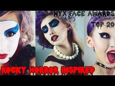 Rocky Horror Picture Show Inspired Makeup ✭ NYX Face Awards 2014 Challen...