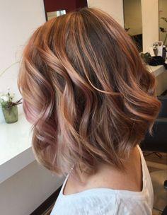 Brown Hair - Rosé Balayage