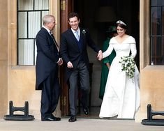 All the details of the royal wedding reception for Princess Eugenie and Jack Brooksbank, from outfits to sp. Wedding Stage, Wedding Reception, Wedding Gowns, Prince Charles And Diana, Prince Andrew, Princess Beatrice Wedding, Princess Wedding, Royal Brides, Royal Weddings