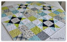The Sewing Chick   Happy Baby Quilt