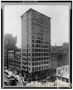 Reliance Building - Chicago 1890 - 1895 - John Root, Charles B. Atwood