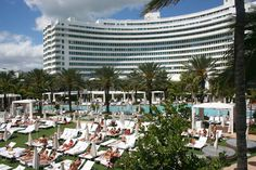 Fontainebleu Hotel in Miami