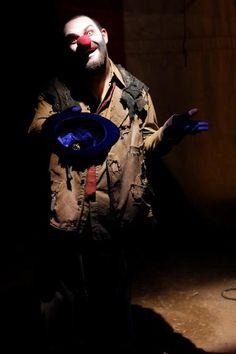 Ivan L. Moody as Hobo the clown.
