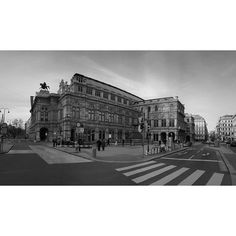 """""""#vienna state #opera or #wiener #staatsoper is one of the most prestigious opera houses in the world with a history dating back to the mid 19th century.  Side note: I was walking around town taking some pictures it was so cold that my hands were freezing and I had difficulties moving my fingers and operating my camera."""" Photo taken by @actuallymt on Instagram, pinned via the InstaPin iOS App! http://www.instapinapp.com (02/04/2015)"""