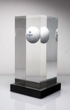 bespoke awards winfield golf ball trophy