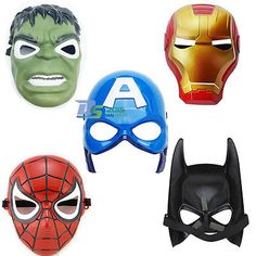 #Halloween party batman avenger #fancy costume face masks kids #chind toy cosplay,  View more on the LINK: http://www.zeppy.io/product/gb/2/281832552612/