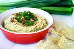 Clean Eating Healthy Artichoke Dip is made with healthy, clean ingredients and NO dairy! It's vegan, gluten-free, dairy-free and ready in just a few minutes!