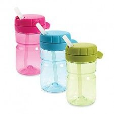 Stop spills and keep the children properly hydrated with training cups and sippy cups. Plastic double wall Tervis tumblers are great for getting youngsters to drink out of a cup safely. Top Water Bottles, Baby Bottles, Tervis Tumbler, Nursery Room Decor, Bottle Design, Baby Feeding, Baby Gifts, Car Seats, Sippy Cups