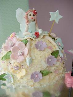 Flower Fairy Cake