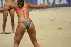 We all love volleyball. We all love butts. :) This page has infinite scroll, enjoy! Volleyball Photos, Beach Volleyball, St Kilda, Woman Beach, Sport Girl, Bikinis, Swimwear, Sexy Women, Lingerie