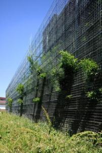 Grüner Vorhang in Lyon - Erweiterung einer Transformatorenhalle