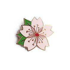 Cherry Blossom Enamel Pin