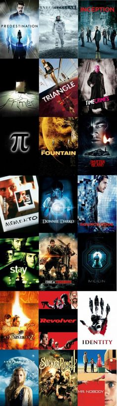 Just in case if you guys are bored want a collection of mindf**k movies. Movie To Watch List, Good Movies To Watch, Movie List, Movie Tv, Donnie Darko, Best Movies List, Identity, Kings Movie, Twists
