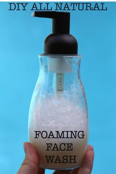 All Natural Foaming Face Wash Recipe