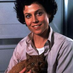 Sigourney Weaver--loved her in the first two Alien movies. Classics.