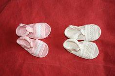 sandalias a crochet | MIS LABORES: ZAPATITOS Y SANDALIAS DE GANCHILLO