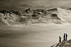 Blick of junger Alm Abfahrt, Bad Gastein Bad Gastein, Greatest Adventure, The World's Greatest, Location, Red Bull, Mount Everest, Austria, Mountains, Landscape