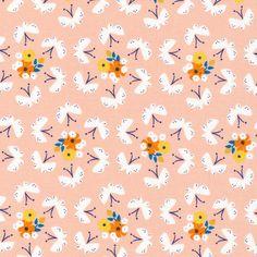 Lotus Pond - Fluttering Fields - Rae Hoekstra - Cloud 9 Fabrics
