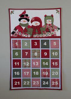Quick and easy handmade advent calendar