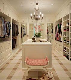 Pinspiration: Dream Walk-In Wardrobes