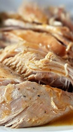 Slow Cooker Turkey with No-Fuss Gravy