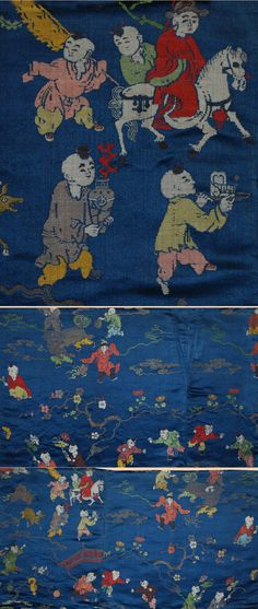 Antique Chinese Ming Textile.Silk Brocade with Gold Thread   Ming Dynasty,   1573 - 1722 A.D