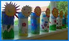 30 World Water Day Crafts - Preschool - Aluno On Bible Crafts For Kids, Christmas Crafts For Kids To Make, Summer Crafts, Art For Kids, Diy And Crafts, Preschool Art Activities, Spring Activities, Toilet Paper Roll Crafts, Paper Crafts