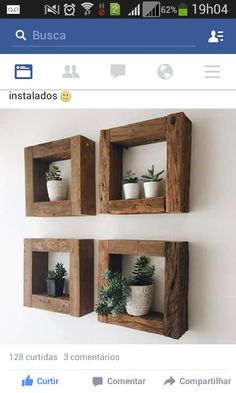 Wall shelves design Wood decor Home decor Diy home decor Wood diy Apartment decor - Slightly bent but properly installed installed properly slightly Genel - Decor Room, Living Room Decor, Bedroom Decor, Wood Home Decor, Ikea Bedroom, Bedroom Ideas, Dining Room, Bedroom Rustic, Bedroom Bed