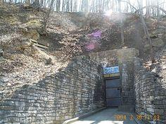 Mark Twain Cave entrance in Hannibal, Missouri