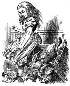 Confira 14 ilustrações originais do livro Alice no País das Maravilhas | Blog do Ben Oliveira Arte: John Tenniel, 1865.