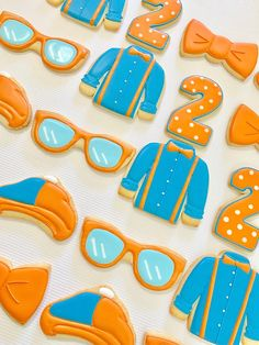 2nd Birthday Party Themes, Second Birthday Ideas, Third Birthday, Birthday Bash, Construction Birthday, Birthday Cookies, First Birthdays, Party Ideas, Cookie Decorating