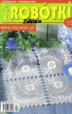 Moje_Robotki_1_2009 - רחל ברעם - Picasa Webalbumok Crochet Books, Crochet Doilies, Crochet Magazine, Crochet Chart, Blog, Magazines, Google, Ideas, Crochet Throw Pattern