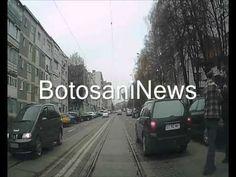 bataie intre soferi pe strada Primaverii din municipiul Botosani