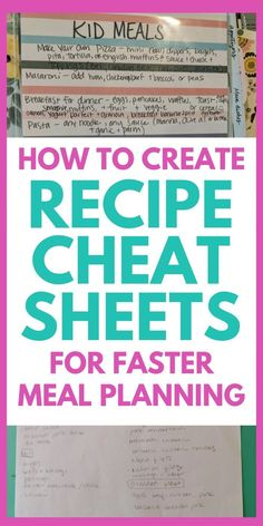 Need fast and easy dinner ideas? Create a recipe cheat sheet. This is a step by step guide to make a&; Need fast and easy dinner ideas? Create a recipe cheat sheet. This is a step by step guide to make […] Newborn Schedule Grace Based Parenting, Newborn Schedule, Monthly Meal Planning, Meal Prep For Beginners, Free Meal Plans, Create A Recipe, Saving Money, Time Saving, Saving Tips