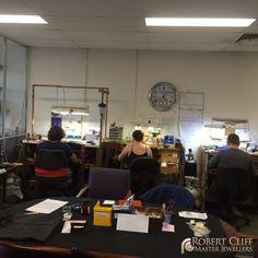 Spotted!! RCJewellers craftsman working hard in the #workshop making amazing creations! --- #Jewellers #sydney #jeweller #designer #masterjeweller #castletowers #jewellerydesigner #jewellerydesign #design #igersaustralia #igerssydney #KingsOfBling #sydney #australia #diamonds #diamondlife #bling #behindthescene #bts #jewellery #jewelry #blingbling #SydneyJewellers #MasterJewellers #style #gems #jewels