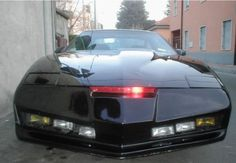 Trans Am (1980s) K.I.T.T. The Knight Rider car 1980s Tv Shows, Sci Fi Tv Shows, My Dream Car, Dream Cars, Kitt Knight Rider, Movies And Series, Pontiac Firebird Trans Am, Porsche 918, Old Shows