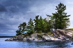 Blind Bay, Killbear Provincial Park by Greg David on Watercolor Landscape, Landscape Art, Landscape Paintings, Landscape Photography, Watercolor Art, Landscape Pictures, Nature Pictures, Pictures To Paint, Art Pictures
