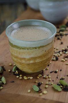 Chai-Spiced Butter Tea. My favorite breakfast.
