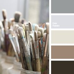 Light almost white colour, but with a slightly violet hue, which is very pale is in the heart of the palette. That is why the rest of the palette colours,