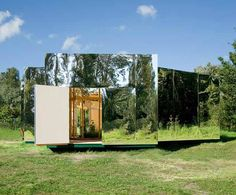 Mirrored Artist Studio by Bureau Lada