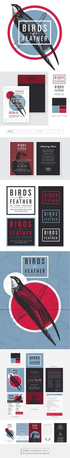 Birds of a Feather Branding on Behance | Fivestar Branding – Design and Branding Agency & Inspiration Gallery