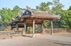 """""""Wood pavilion at Tomb of Tu Duc complex"""" by TravelPod blogger momentsintime from the entry """"Tomb of Tu Duc and its sprawling complex!"""" on Friday, February 28, 2014 in Hue, Vietnam"""