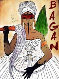 OYA DO RIO. OYA DA LAMA. OYA SEM CABEÇA. Esta Yabá nasce no Odu Ossá Mejí (9-9) Bagan teria sido o último avatar (corpo reenca...