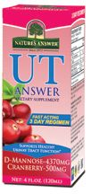 UT answer - natural uti remedy, can be found at most GNC stores! Has D-mannose in it too!
