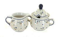Polish Pottery Country Meadow Sugar  Creamer >>> Want to know more, click on the image.(This is an Amazon affiliate link and I receive a commission for the sales)