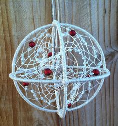 Gorgeous+Beaded+3D+Dream+Catcher+by+nightlifeaccents+on+Etsy,+$30.00