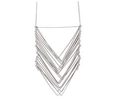 Templar Necklace by Maslo Jewelry. Nice, delicate lines!