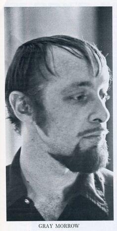 Gray Morrow,comics artist and animator in 1970.