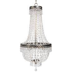 Chandeliers on Maisons du Monde. Take a look at all the furniture and decorative objects on Maisons du Monde. Beaded Chandelier, Dining Room Inspiration, Soft Furnishings, Decoration, Light Up, Contemporary Design, Metallica, Diy Furniture, Ceiling Lights