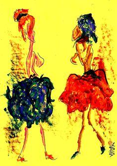 Marian Lupu LUPINO #fashion Movie Posters, Painting, Design, Art, Fashion, Art Background, Moda, Fashion Styles, Film Poster